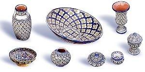 أطباق و أواني من الفخار صنع المغرب 4
