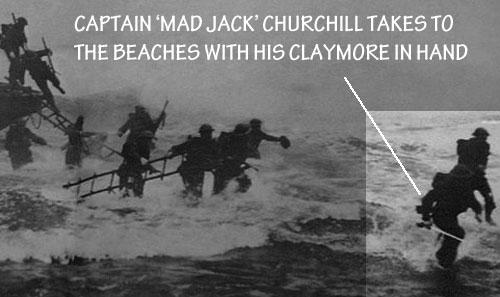 """Los """"Rambos"""" reales de la historia. Captain-mad-jack-churchill"""