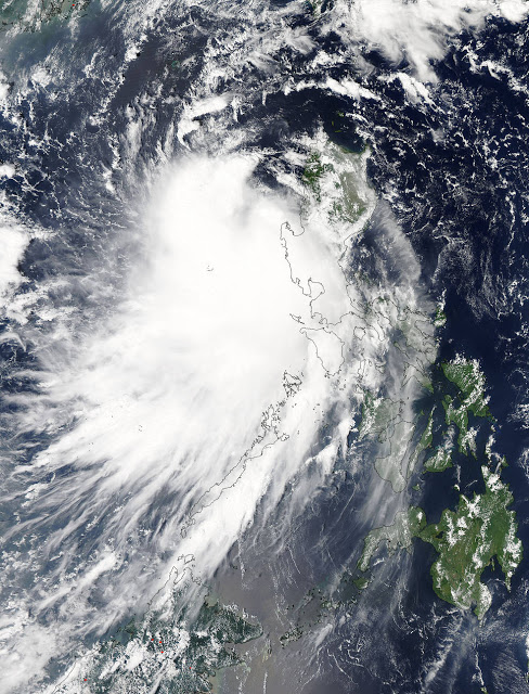 Almost a million people evacuated: Typhoon Mujigae with winds of 180 kilometers (112 miles) per hour set to pummel China  Mujigae.a2015275.0525.1km