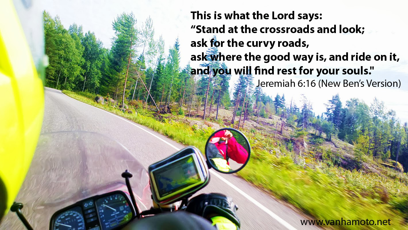 The Bible enhanced for motorbike riders... 2013-08-18-4994bibleversion
