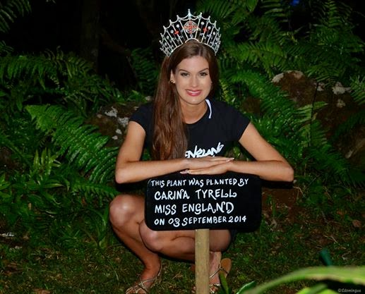 ★ MISS MANIA 2014 - Rolene Strauss of South Africa !!! ★ Miss%2Bengland%2BCarina%2BTyrrell3