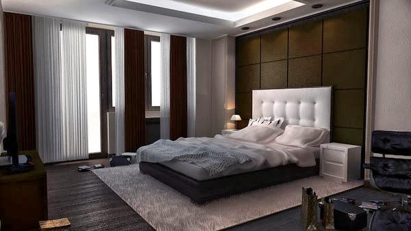 صور تصاميم ديكورات غرف نوم مودرن رائعة 2014 Bedroom Decoration  7-classically-neat