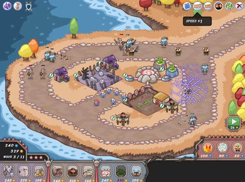 Recopilación de Juegos Tower Defense  Demons-vs-fairyland-kingdom-rush