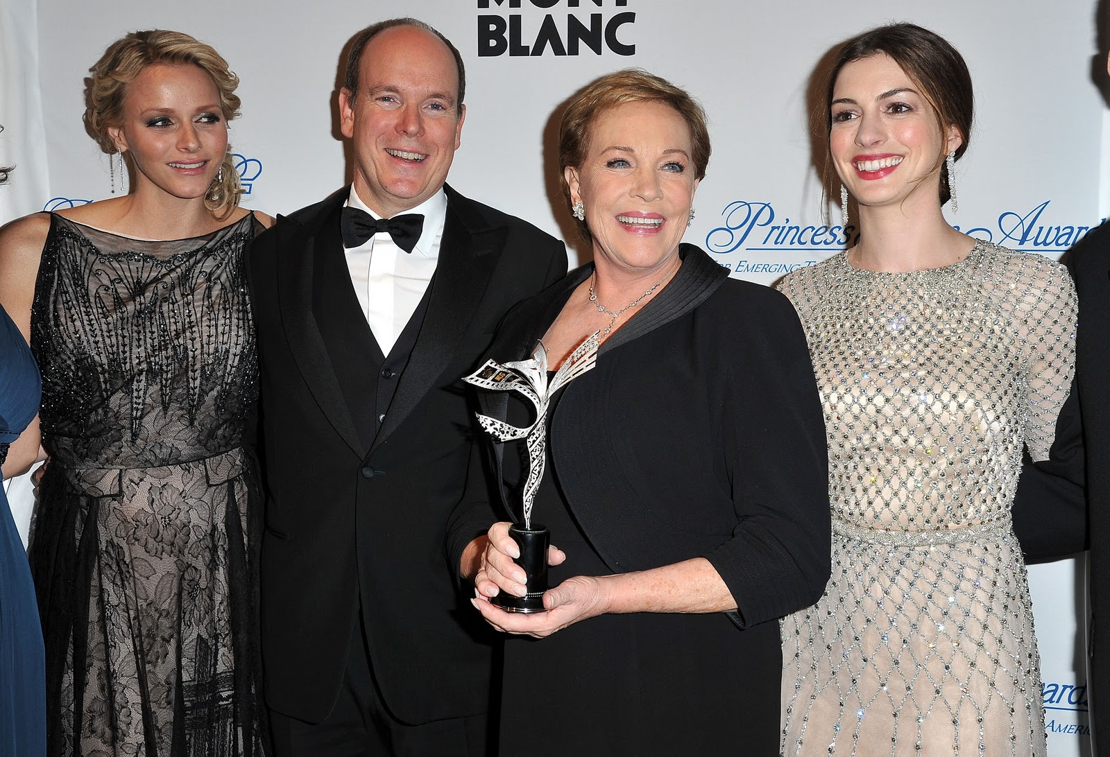 Prince Albert and Princess Charlene in America Montblanc