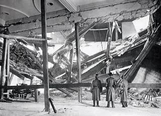 La cervecería Bürgerbräukeller tras el atentado de 1939