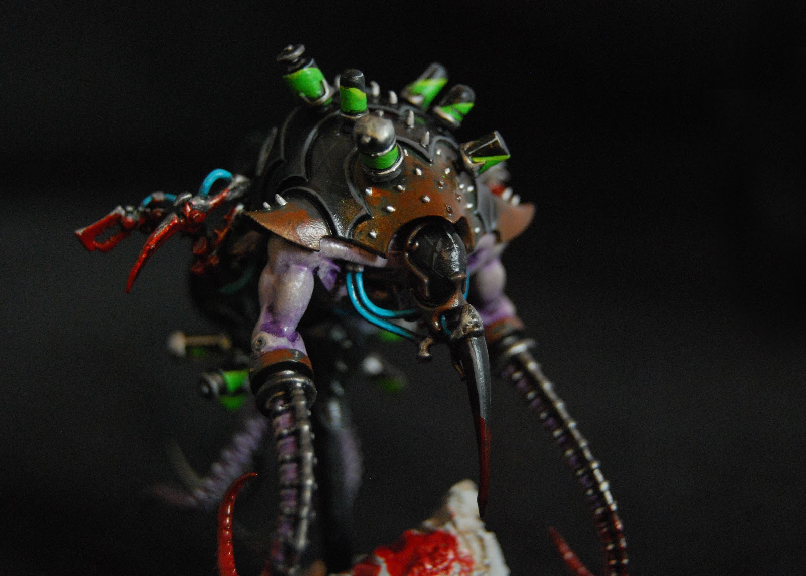 EOE's Dark Eldar Painting Tutorials  DE_Pain_Engines_14