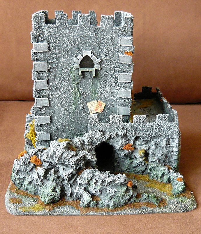 Dwalthrim's smithy - my table and terrain Dt05