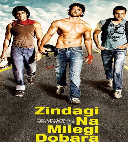 Zindagi na milegi dobara - videoclip - Hrithik Roshan, Katrina Kaif, Farhan Akhtar... Zindagi-Na-Milegi-Dobara-Po