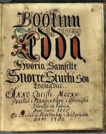 IL SUGO DELLA VITA Codex3-Edda