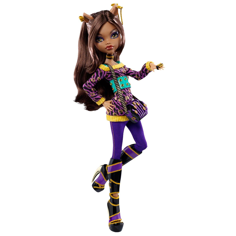 [MH/Barbie] Geek-girls: custosentation Poupee_clawdeen_wolf_school_out_2