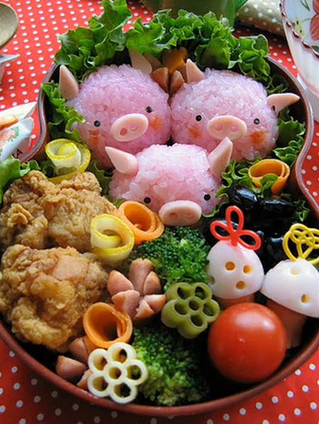 Food art - Page 11 Pigs