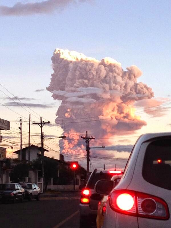 Ecuador's spectacular volcanic eruption spews six-mile column of ash into the sky  12