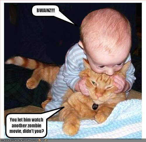 RIDI CHE TI  PASSA.... - Pagina 6 Funny-pictures-your-child-watched-too-many-zombie-movies