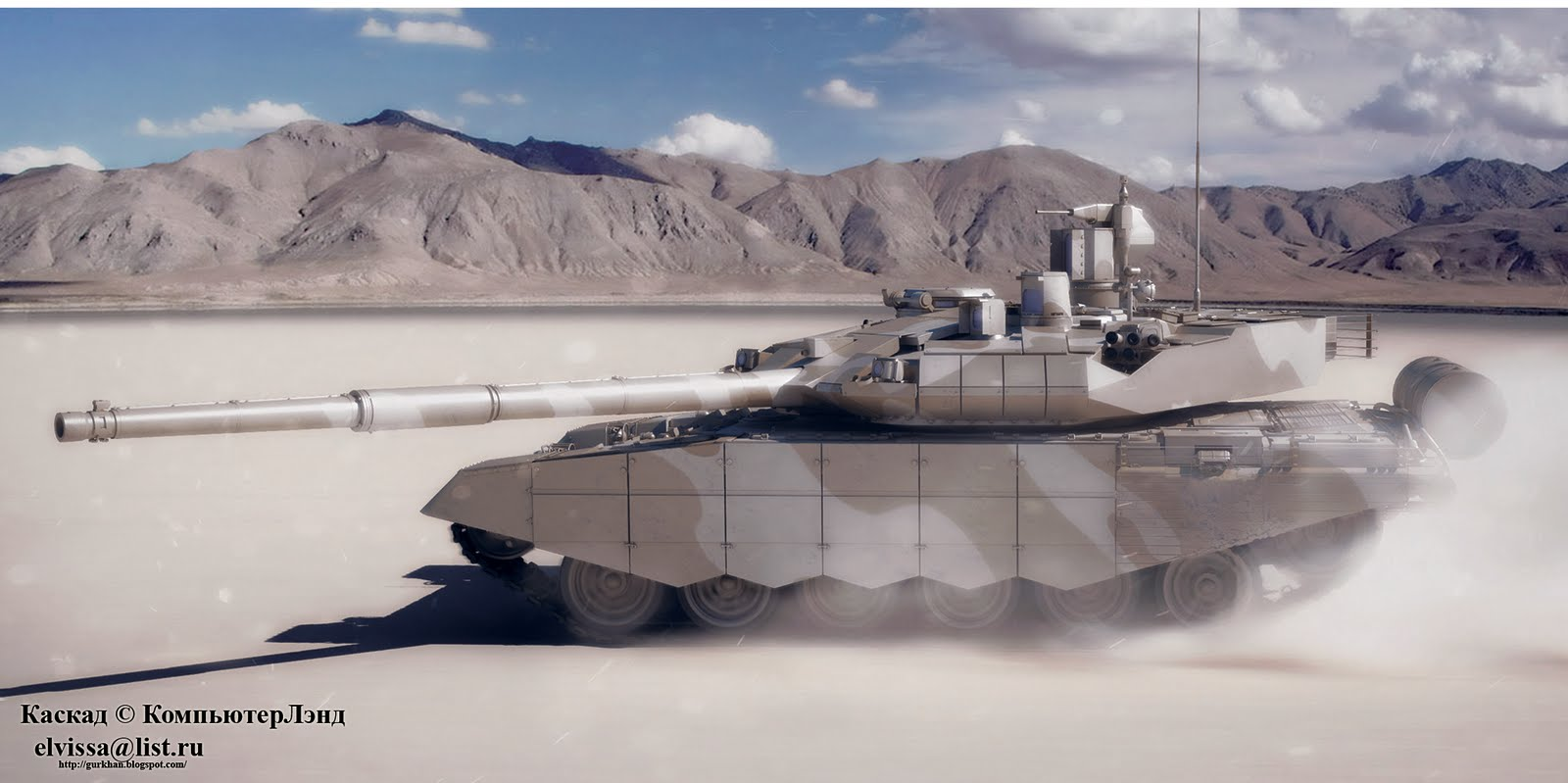 الجزائر توقع عقدا لشراء 300 دبابة  تي 90  والاحتمال انها  نوع T90MS T-90MS_rus-15