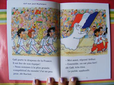 GAFI RACONTE - GAFI AUX JEUX OLYMPIQUES de Danièle Fossette et Mérel DSCF1380