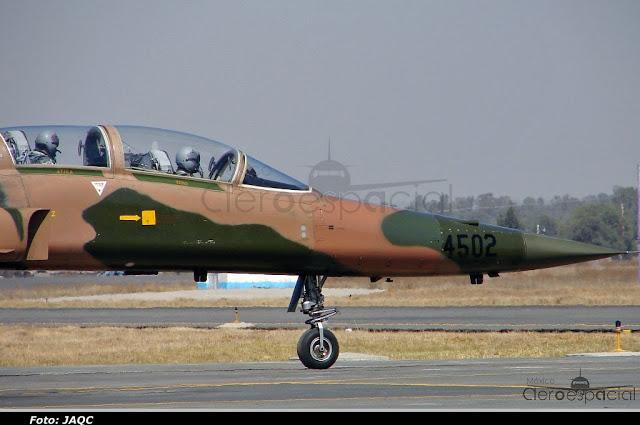 Nuevos aviones interceptores para la Fuerza Aérea Mexicana DSC03438b