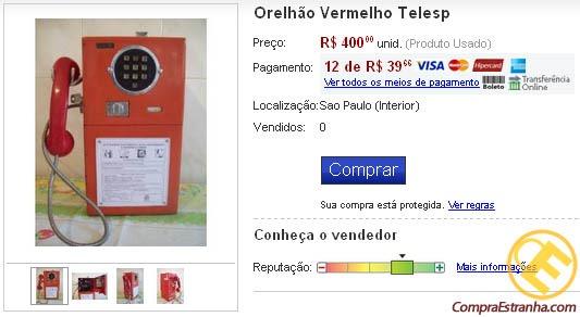 """Coisas Malucas Encontradas no""""mercado Livre"""". 0715"""