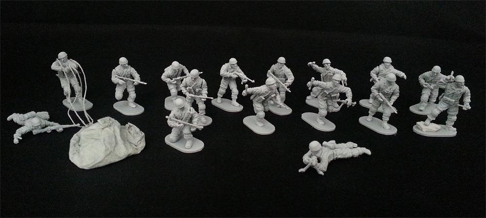 Caesar Miniaturen (1:72/ Assembly Serie) Paratrooper