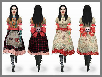 Alice: Madness Returns Set by MeroninSims3  Misstitched2