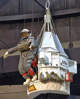 Parachutisme : Projet EXCELSIOR . Excelsior_NMUSAF_Display