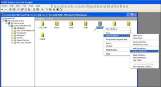Como Restaurar uma Database no SQL Server 2000 Part3