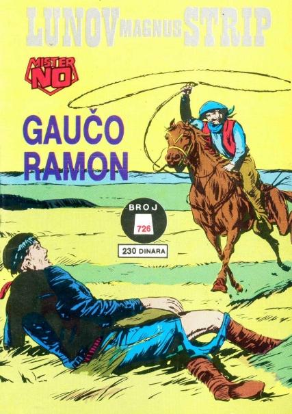 Mister No Gauco-ramon