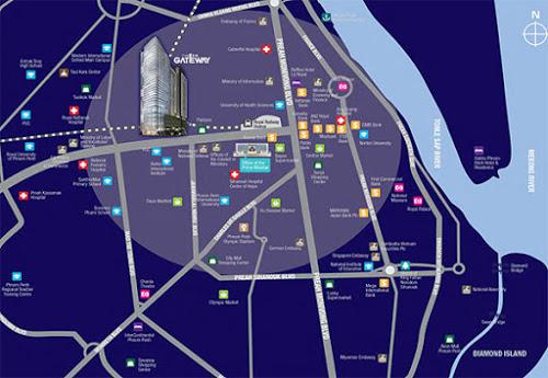 Cambodia New condo The-Gateway-%2540-Cambodia-Location