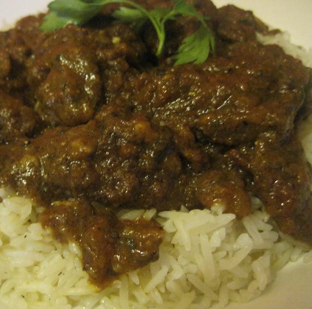 Spicy Moroccan Rice with Tomatoes / Riz cuit  à  la marocaine bien épicé 04