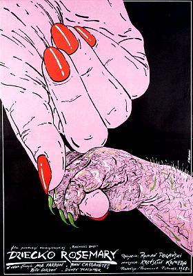-Los mejores posters/afiches  del cine de terror y Sci-fi- - Página 2 Rosemarysbaby