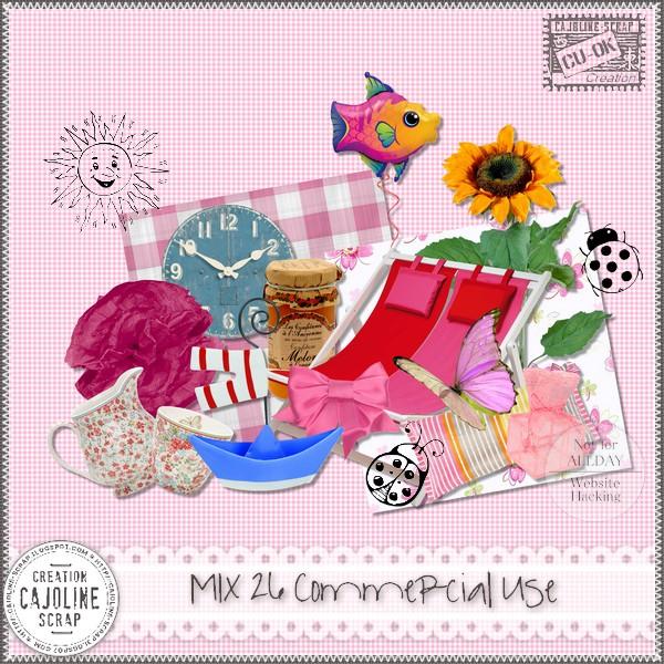 MIX 26 Commercial Use Cajoline_mix26_cu