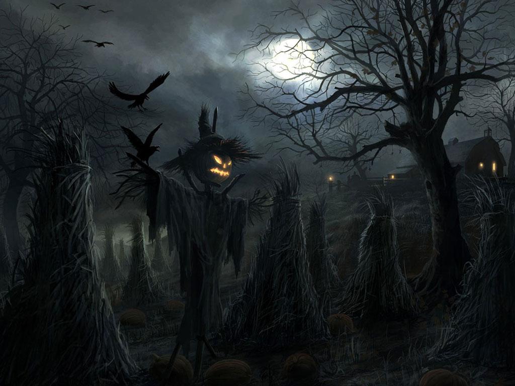 Noche de Halloween Scarecrow-halloween