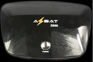 AZBOX BRAVISSIMO/MOOZCA EM AZSAT S966 AZSAT%2BS966