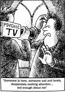 Psychic Phenomena: Why Scientists Deny It?  Psychic-cartoon1