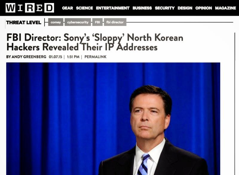 """John McAfee: """"Sé quién hackeó Sony Pictures y no fue Corea del Norte"""" Fbicorea"""