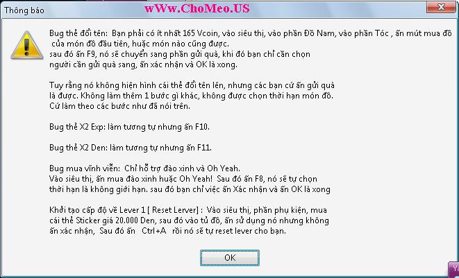 CMModz 6119 Bug RN Mua ohyeah v.v, Bug màu chữ,... Fix các chức năng bị lỗi HDCMModz