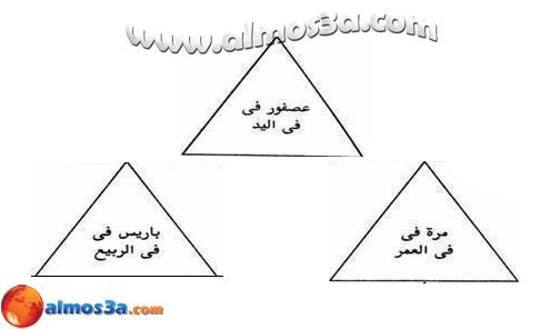 إقرأ معي الجُمل المكتوبة في هذه المثلثات  537271_152648068240088_1935379548_n