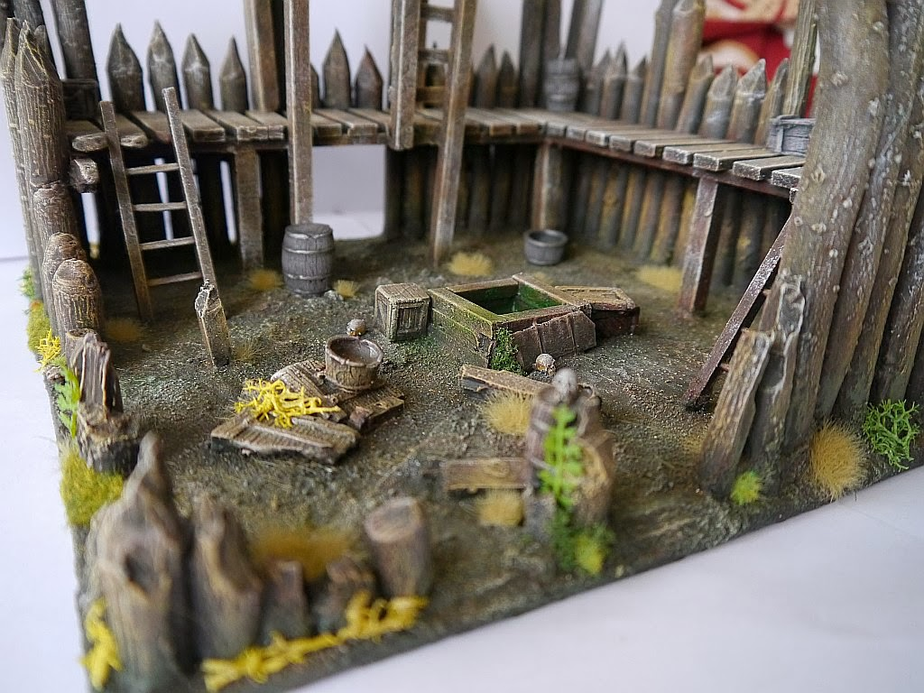 Dwalthrim's smithy - my table and terrain Zrujnowana_straznica_13