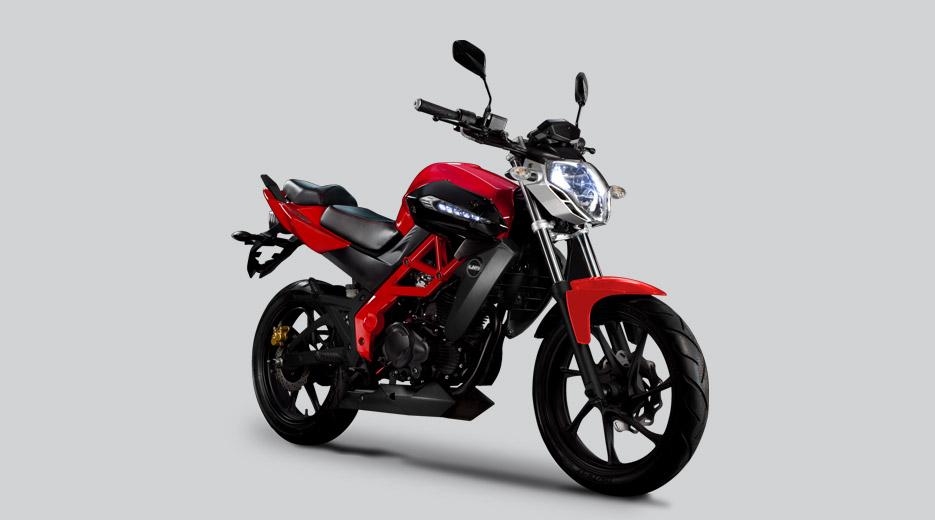 La Xtreet es la única moto en el mundo que ha incorporado 37 bombillas de luz LED Xtreet_Frontside_red