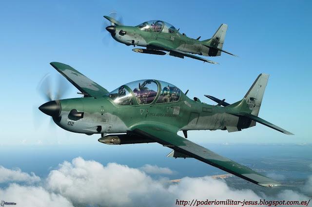Embraer EMB 314 Super Tucano(  avión turbohélice diseñado para el ataque ligero, contrainsurgencia y entrenamiento avanzado de pilotosBrasil, ) - Página 3 Super%2Btucano