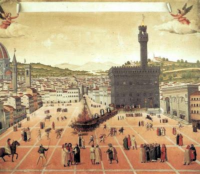 Manierismo. Savonarola_execution_big