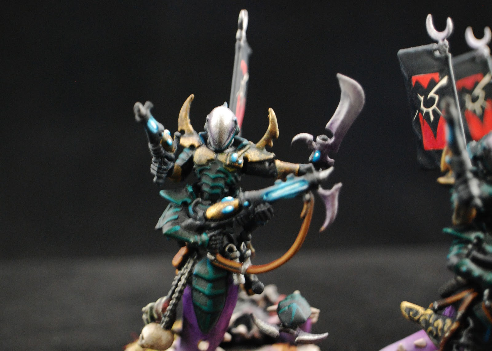 EOE's Dark Eldar Painting Tutorials  Sslyth_Painted_3