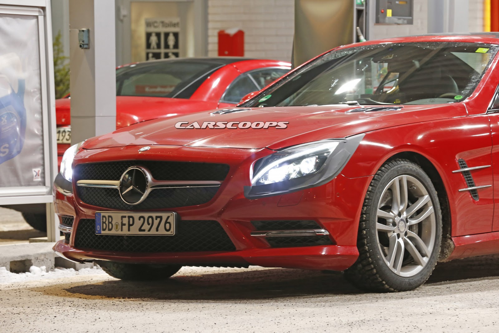 2015 - [Mercedes] SL Restylé [R231] 2017-Mercedes-SL-FL-2