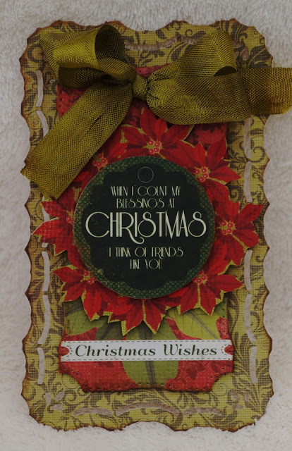 29 september 2013 Firstly – Vintage tags featuring the Christmas Carol Collection for the adult pres TT2