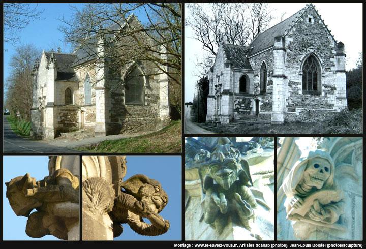 Le saviez-vous?Les gargouilles de la chapelle de Bethleem Gargouilles-sculptures-chapelle-bethleem