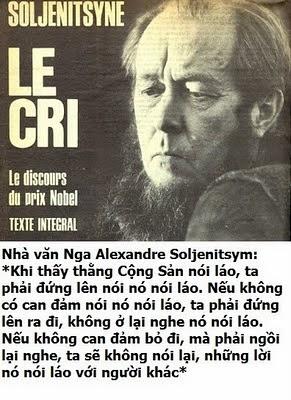 Đừng lấy dối trá làm lẽ sống - Aleksandr Solzhenitsyn Tdlbao