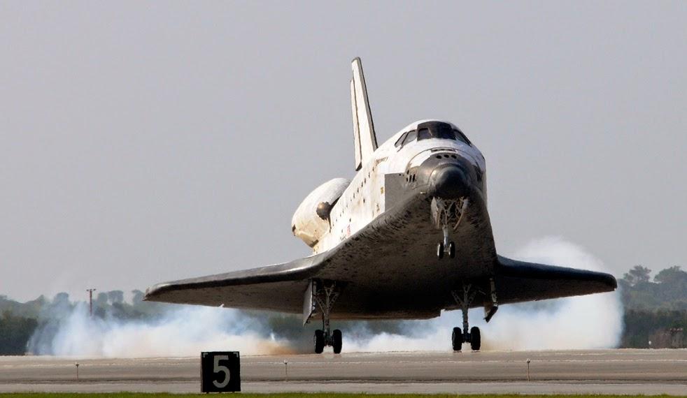 --Работа шаттла на орбите : фотографии-- Shuttle2