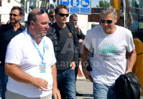 George Clooney arrives in Venice 24414907