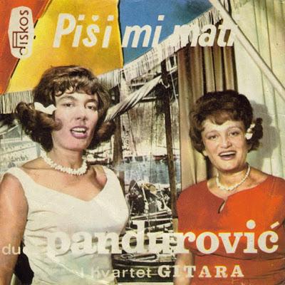 Duet Pandurović - Piši Mi Mati1965 Omot%2Bps