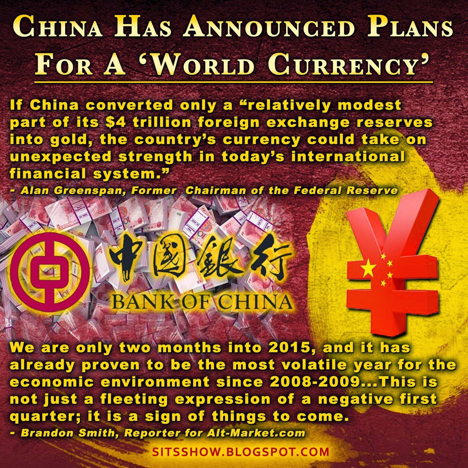 End of the Dollar as Global Reserve Currency?  China%2BAnnounces%2BWorld%2BCurrency