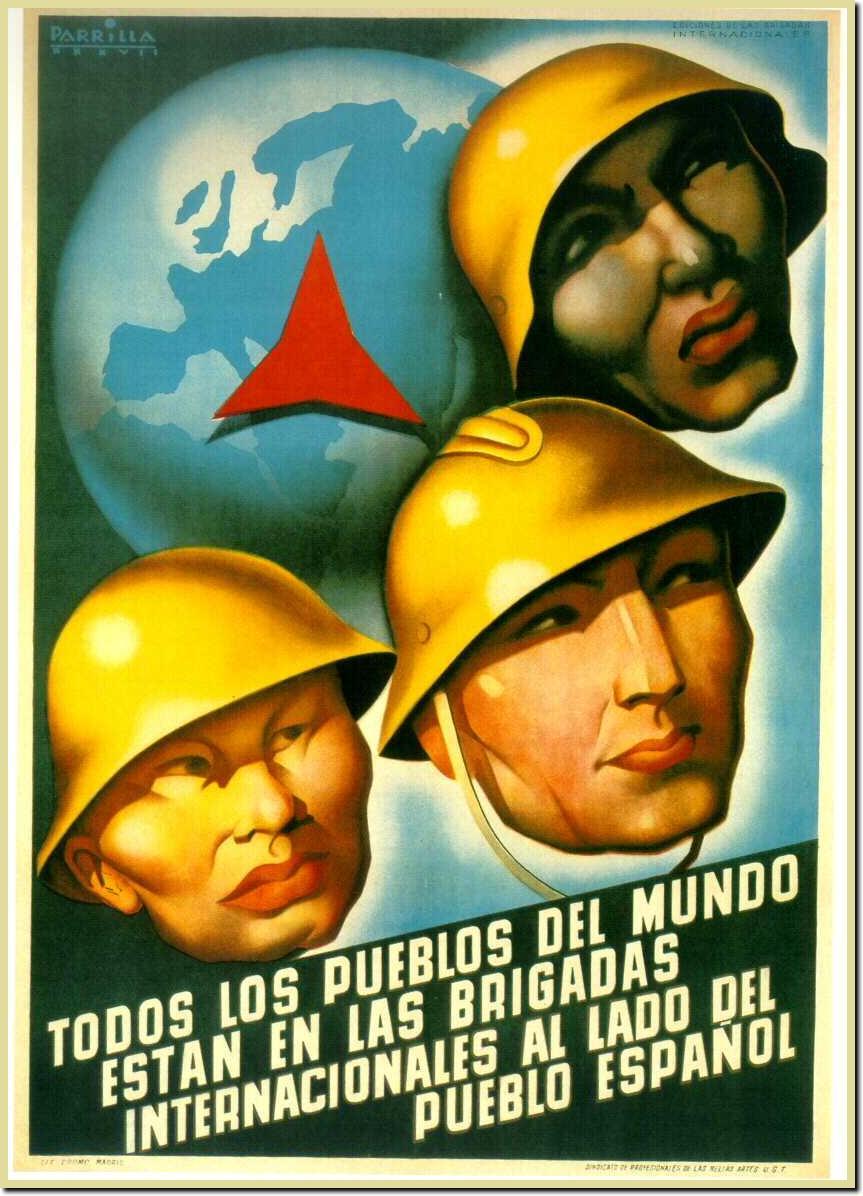 Las Brigadas Internacionales Brigadistas